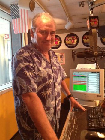 John Records Landecker in his final months at WLS.