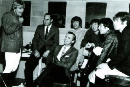 Hal Hodgens and Dan Brennan  with Paul Revere and the Raiders.
