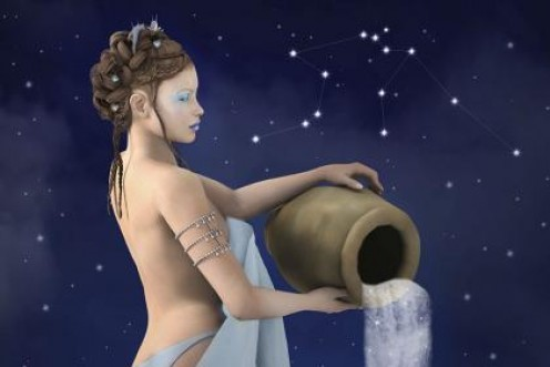 Aquarius, the water carrier