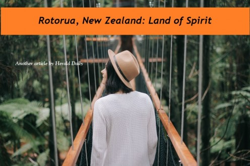 Visit Rotorua, New Zealand - The Land of Spirit