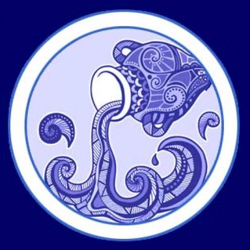Aquarius, the water bearer