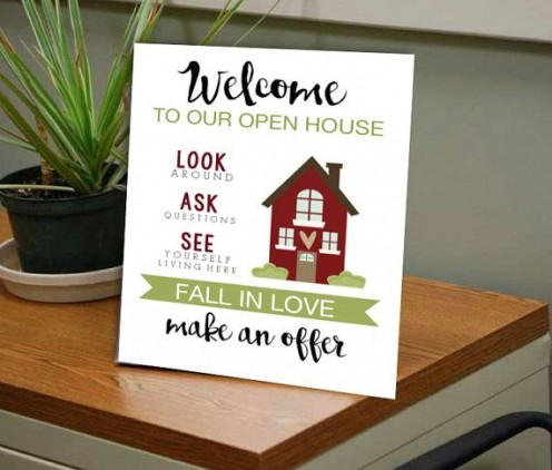 Using Informative and Attractive Signs Are a Must While Advertising for Home Open Day