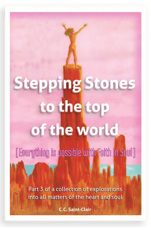 Stepping Stones to the Top of the World, Volume 3 - work in progress - ultimately intended as a free download, as are the 2 previous books.