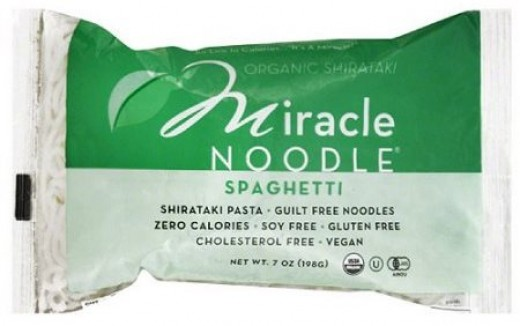 Another brand of Shirataki noodles with no soy.