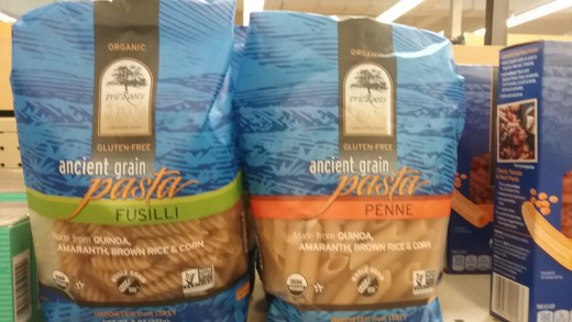 truRoots Organic, non-GMO, and Kosher pasta is also gluten free.