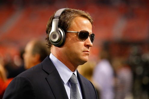 Lake Kiffin, former head coach of USC, NFL's Oakland Raiders, former offensive coordinator, The University of Alabama, now-head coach of Florida Atlantic University.