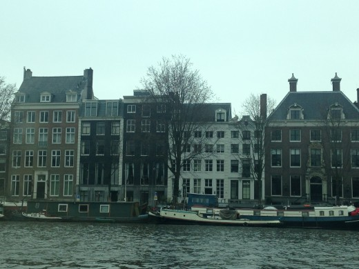 These pictures can't capture the beauty you see as you are riding along the canals.