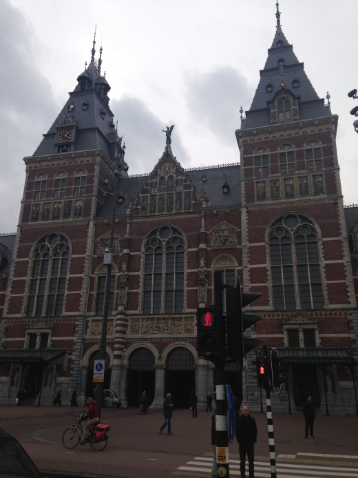 The Rijksmuseum.  Simply stunning inside and out!