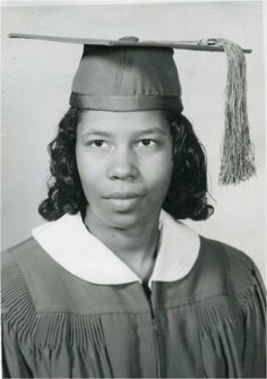 Margaret Josephine Jackson, Central High School, Sussex, Virginia, June 1963.