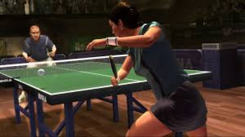 I love playing ping pong with another person. It is a great stress reliever and it is entertaining.