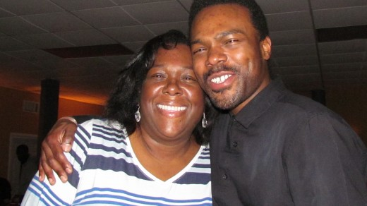Hashim Wilson is with his mother Myromma Wilson, who said he always love to dance.