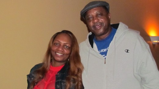 Mustaf and Geraldine, enjoyed the show as well by Traxx9 Band. Mustaf, played on Chester High's basketball team in 1978.