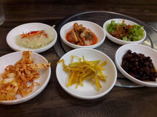 Other side dishes. By the way I like eating the nuts :p