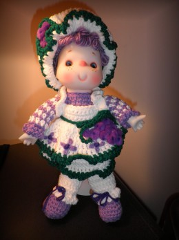 """""""The Grape Jelly Doll"""" - One Of A Kind"""
