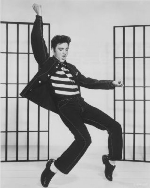 Elvis Presley, King of Rock & Roll