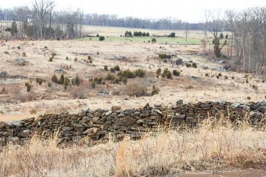 Gettysburg Battlefield Depiction