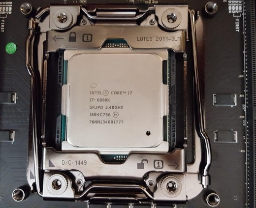 The i7-6800k gives you 6 cores and 12 threads all for just $400. Overclock it and the value is exceptional when compared to other Broadwell-e CPUs.