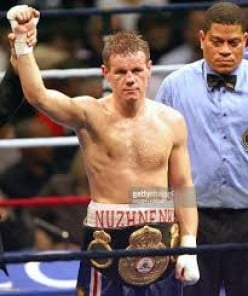 """""""Real Man"""" won the WBA welterweight title as a pro and as an amateur he is a tow-time Ukrainian National Champion."""