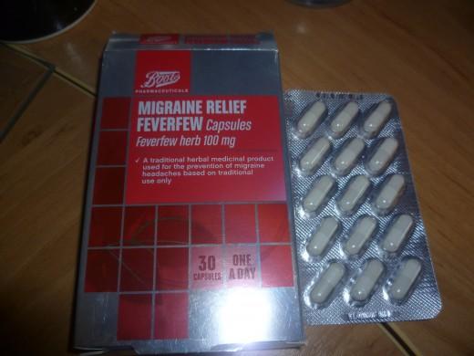 Feverfew Capsules 100mg