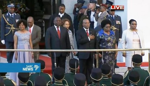 President, Deputy President, Speaker, Assistant Speaker, and spouses