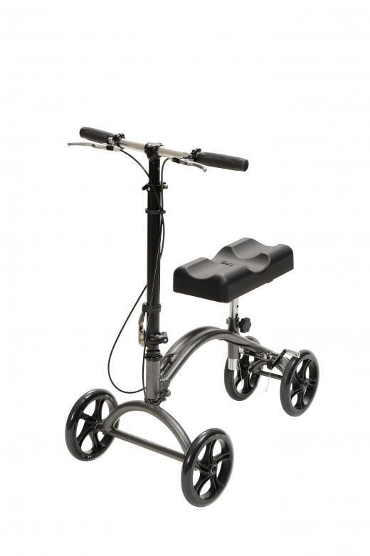 Example of a knee scooter