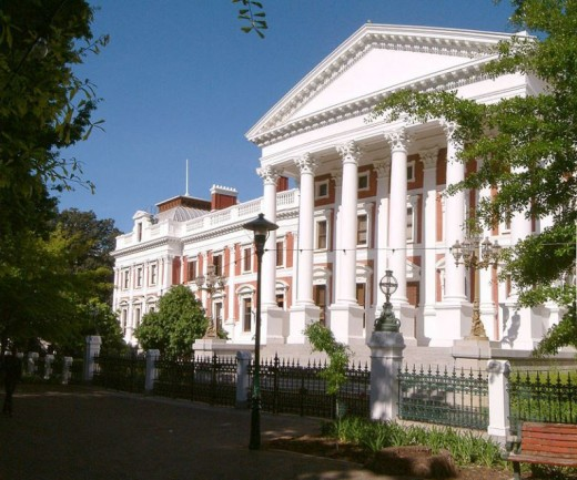 Neoclassical and Cape Dutch architecture