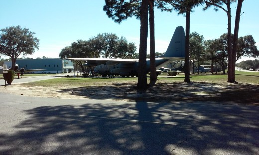 Outdoor aircraft display, Air Force Armament Museum, Ft. Walton Beach, FL