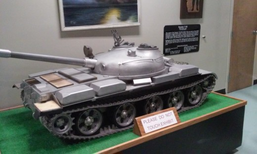 Russian Battle Tank, Air Force Armament Museum, Ft. Walton Beach, FL