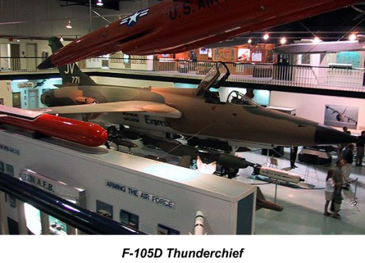 F-105D Thunderchief, Air Force Armament Museum, Ft. Walton Beach, FL
