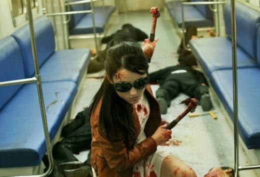 The Raid 2's 'Hammer Girl', played by actress, Julie Estelle, was one of the standouts of the film for the no-holds-barred brutality using household devices on others and ultimately herself.