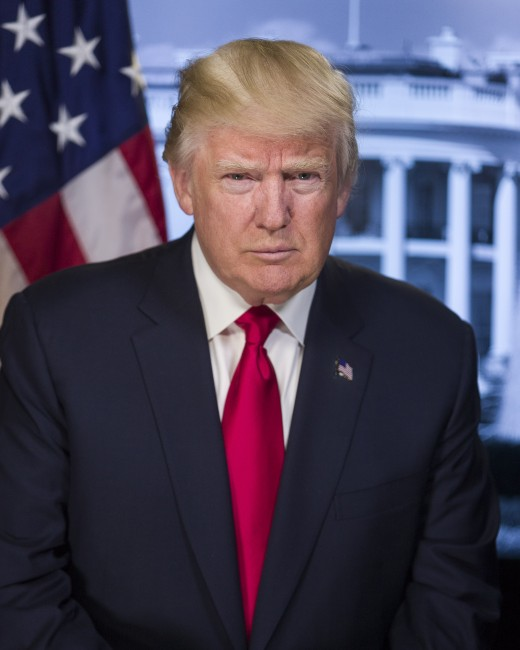 Official Portrait of President Donald J. Trump