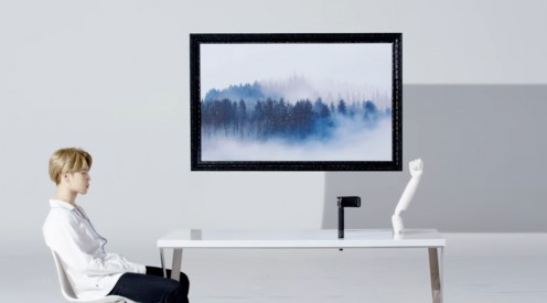 The landscape picture.
