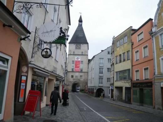Braunau:  Birth place of Adolf Hitler