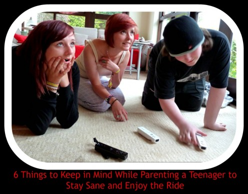 How to Keep Your Sanity While Parenting a Teenager