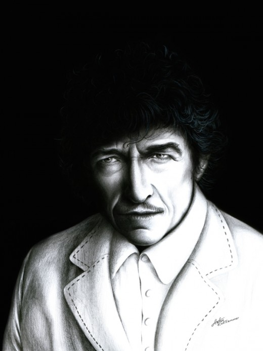 Bob Dylan, a haunting self-portrait