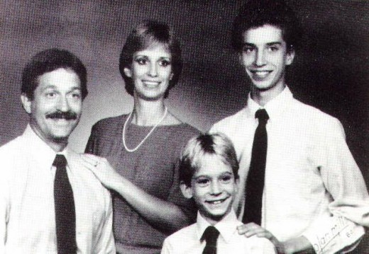 Russ and Barbara Stager with her sons