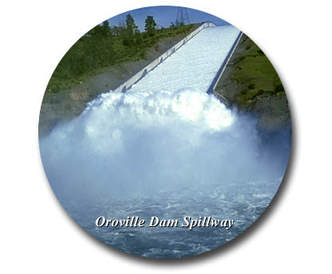 They say there is some damage in the structure of the Dam spillway, and other problems with the overflow, the Dam could collapse. So an evacuation downstream has been ordered, for about 200,000 people.