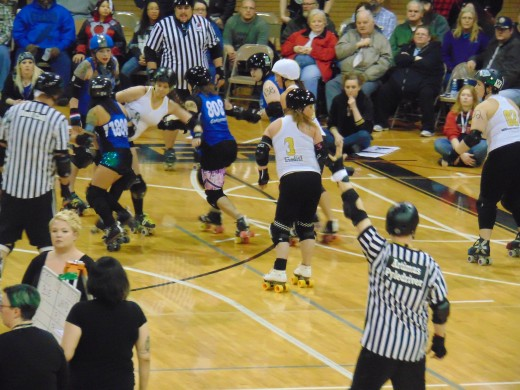Roller Derby is a full contact sport and its strict officiating is undoubtedly appreciated.