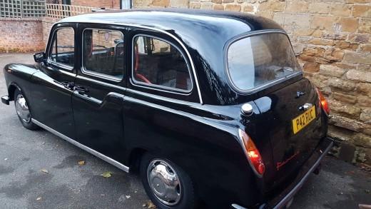 London black cab 1996 carbodies fairway taxi