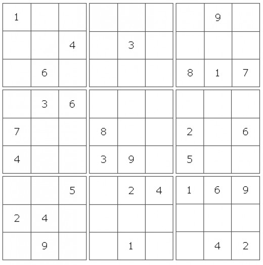 Early form of Sudoku was modeled around latin squares.