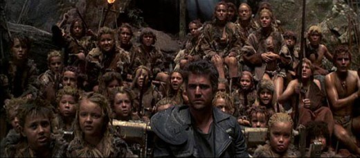 "The film goes a bit ""Lost Boys"" in the second half but still retains the bleakness of the series"
