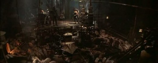 The budget is well spent, creating a believable world and numerous sets that look and feel real