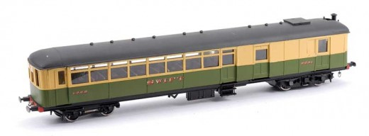 O Gauge Sentinel LNER railcar 'Swift'. These railcars had all been withdrawn in the North Eastern Region BR by 1948