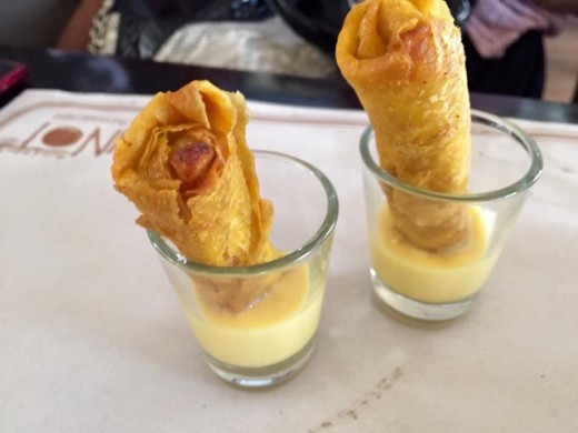 Turon Sticks for Dessert by Punot, Esplanade Boardwalk, ,Iloilo City