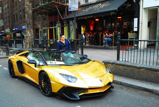 Saudi prince who brought fleet of gold supercars to London