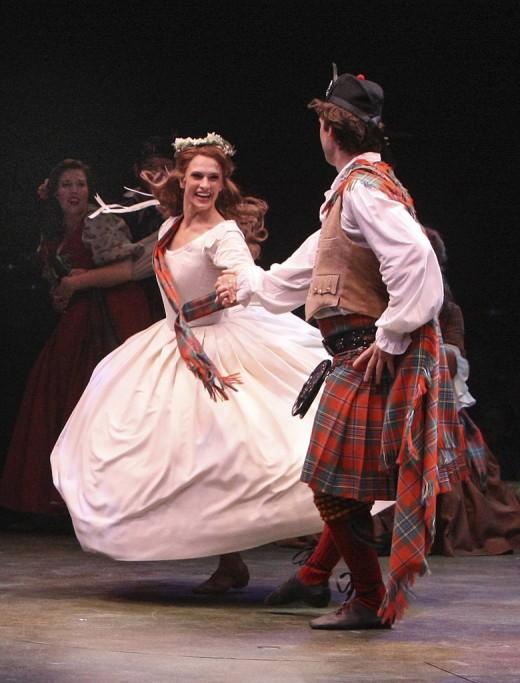 """ballet from """"Brigadoon"""