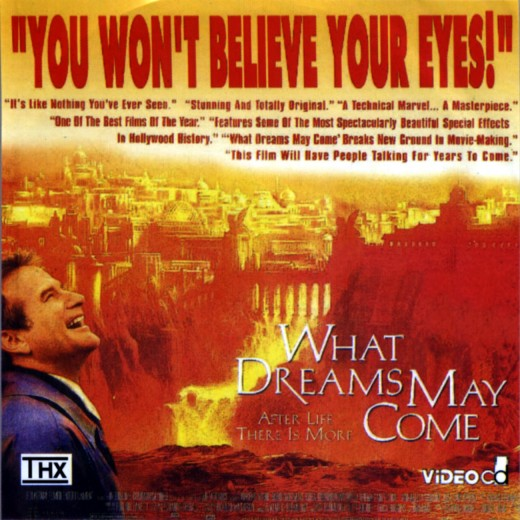 """""""What Dreams May Come"""" poster"""