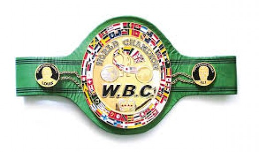 Boxing has too many titles including the WBC, WBA, WBO and the IBF.