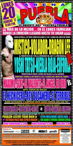 CMLL Puebla Preview: Monday, Bloody Monday