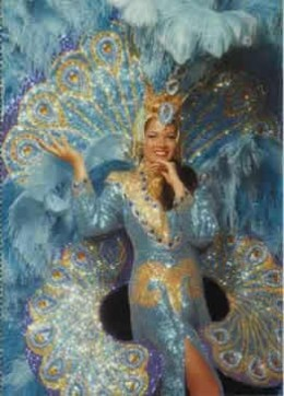 BRAZILIAN DANCER IN COSTUME